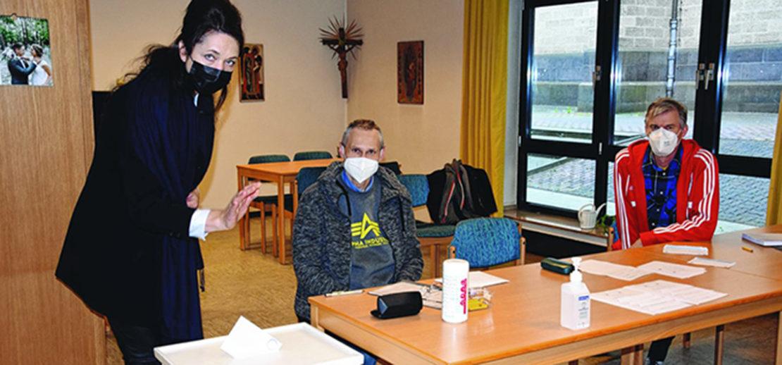 In St.Marien hatten die Christen am ersten Mai-Wochenende die Wahl und konnten über ihren zukünftigen Pfarrer abstimmen. Foto: Annabell Jatzke