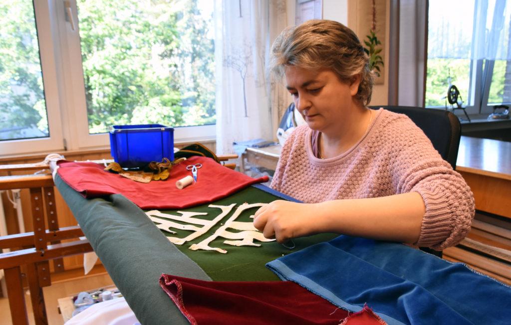 Die Paramentenwerkstätte der Missionsschwestern vom Kostbaren Blut ist Teil des Missionshauses in Neuenbeken.