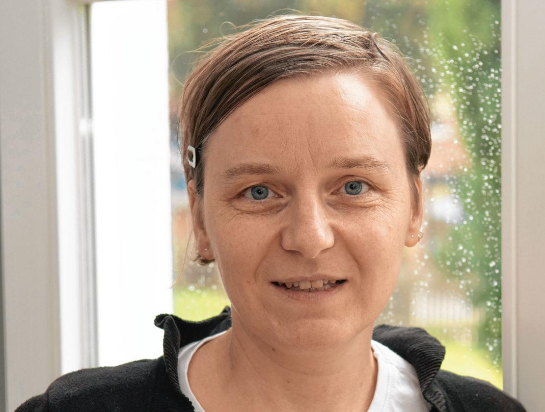 Marie-Simone Scholz. (Foto: Flüter)